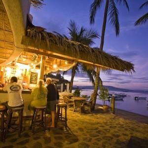 Neki beach bar, ili barem neki kafić na Adi ako ništa drugo. Sednemo, popijemo neke lagane koktele, brčkamo se malo, uživamo u suncu i životu.
