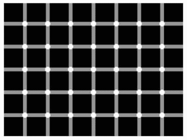 Koliko crnih tačaka vidite?