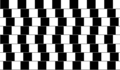 Da li su horizontalne linije paralelne?